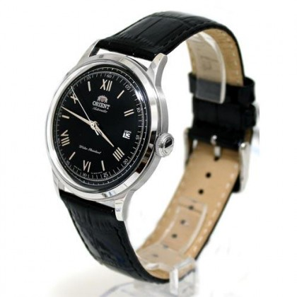 Orient FAC0000AB AC0000AB Men's Classic Automatic Bambino Version 2 Black Leather Strap Watch