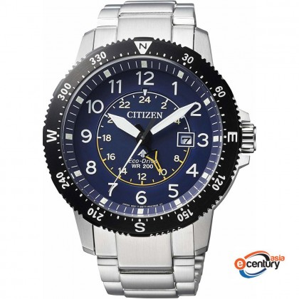 Citizen BJ7094-59L Men's Eco-Drive Promaster Land 100M Stainless Steel Watch