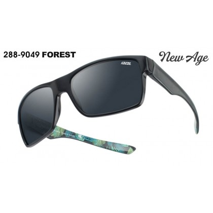 (NEW) Ideal 288-9049 FOREST Men's New Age High-Performance Hard Coating TAC Polarized Lens Sunglasses