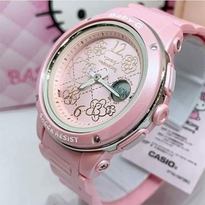 Casio Baby-G BGA-150KT-4B 25th Anniversary x Hello Kitty Analog-Digital Watch