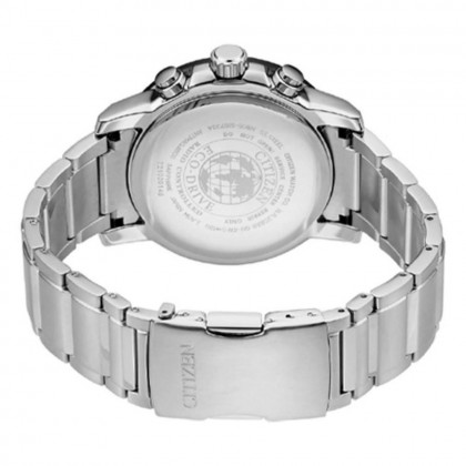Citizen AT8124-91L Men's Eco-Drive Radio-Controlled Stainless Steel Bracelet Watch